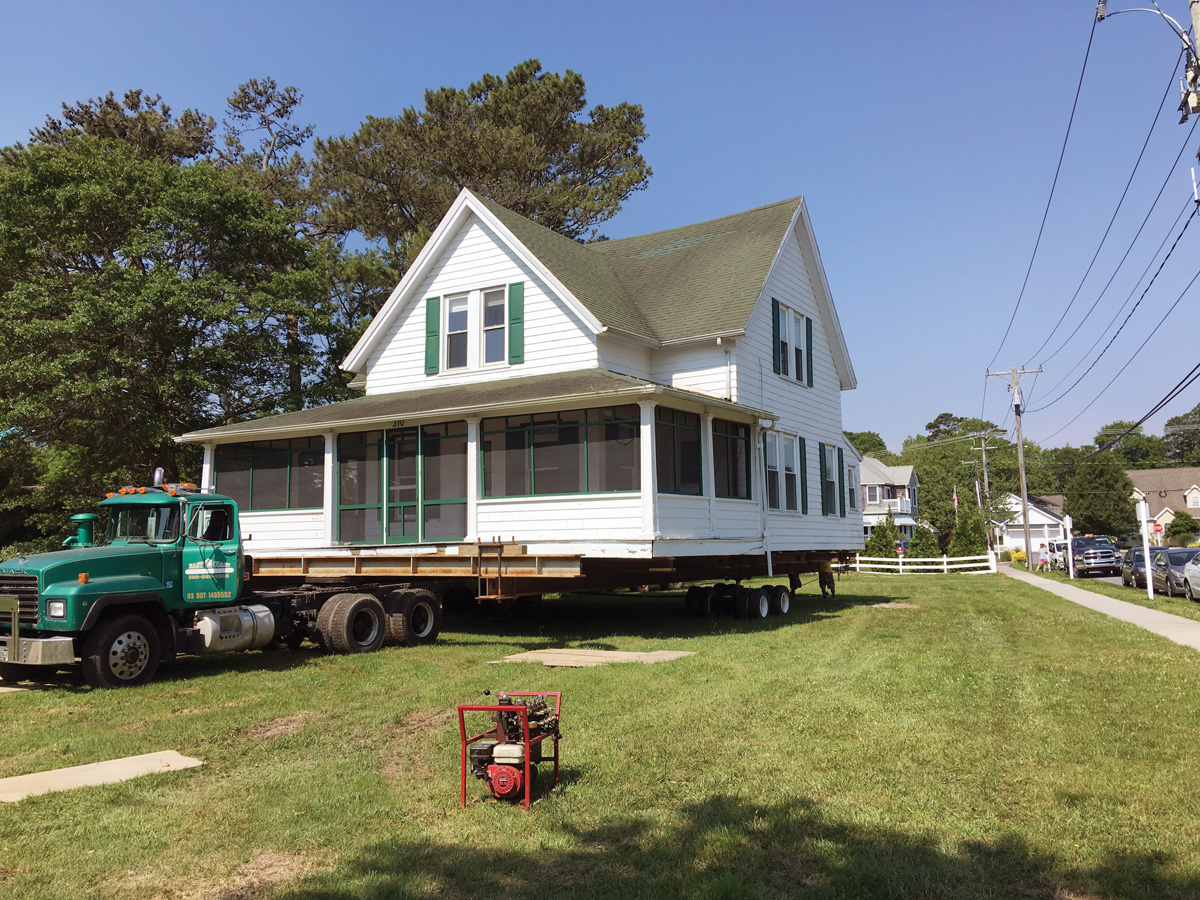 The Dinker cottage was moved to Garfield Parkway Ext. last June, and will now host the Dinker-Irvin Museum, targeted to open in 2020.