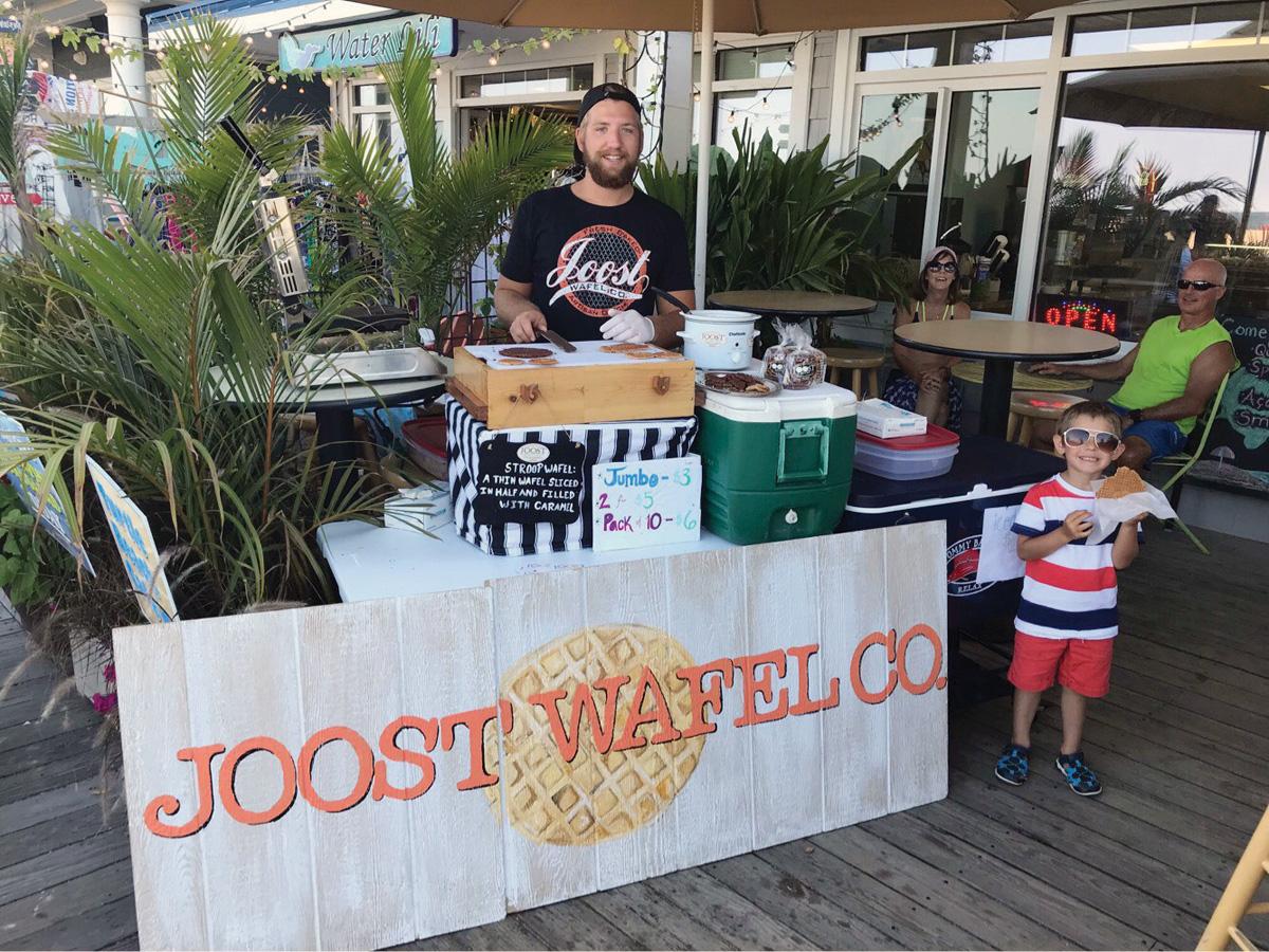 Joost Elling will be bringing his stroopwafel to Dagsboro Days on Saturday, April 20.