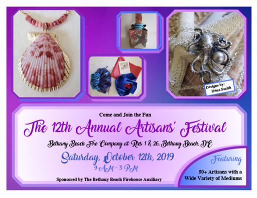 Dana Smith's art is featured prominently on marketing materials for this year's Artisans' Festival.