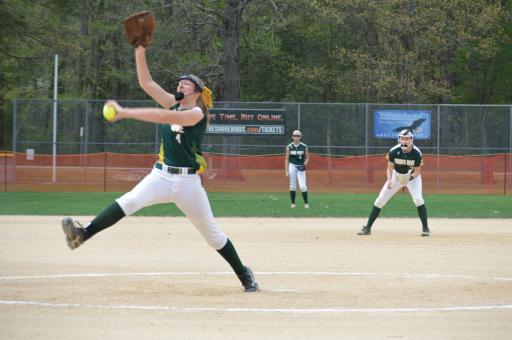 Abby O'Shields pitched a perfect game earlier this season, which helped the Indians clinch the 11th seed in the DIAA tournament.