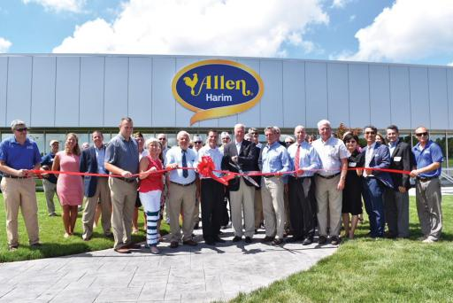 Allen Harim recently opened a headquarters in Millsboro on Thursday, Aug. 2.