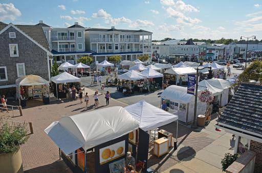 The Bethany Beach Boardwalk Arts Festival is a prized September tradition.