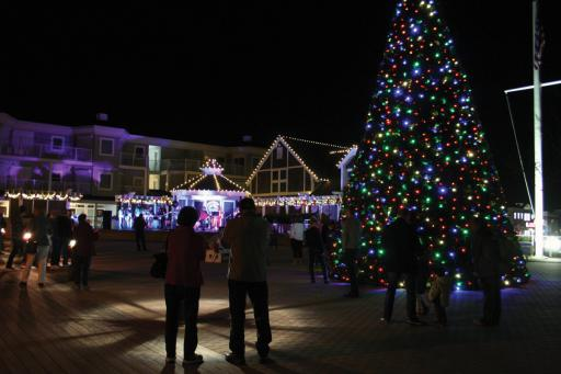 Coastal Point • File Photo The annual tree-lighting in Bethany Beach has become a tradition.