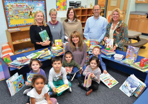 New books were delivered to Epworth Preschool in Rehoboth Beach, but will also be circulated to many other Read Aloud Sussex County locations.
