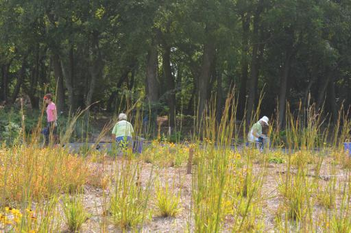 Volunteers are the backbone of the Delaware Botanic Gardens, according to organizers.