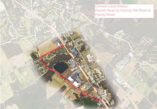 A proposed detour to circumvent a bridge project in Millsboro next spring will alter traffic patterns for an estimated two weeks.
