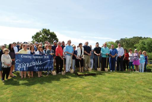 Carl M. Freeman Companies held a ground breaking for a clubhouse at Bayside Resort Club on Friday, May 10.