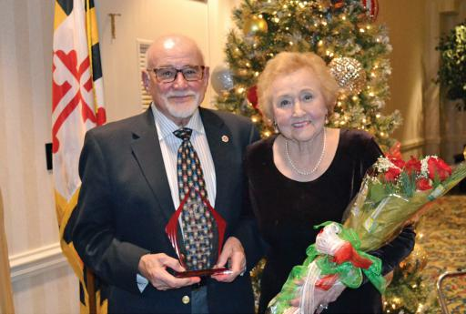 Sal and Mary Castorina were awarded with the Sons and Daughters of Italy of Ocean City's Distinguished Citizens of the Year for 2019.