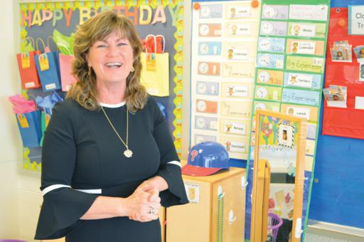 Catherine 'Cathy' Dorey loves teaching the youngest of IRSD's students