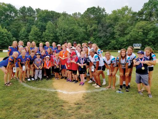 Players from the District 3 Challenger Division League were joined by the teams from U.S. Central and District 3 during the Little League Senior Softball World Series for their season finale contest. The players from Central and District 3 buddied with the Challenger players for the game, and made many wonderful memories for all involved.