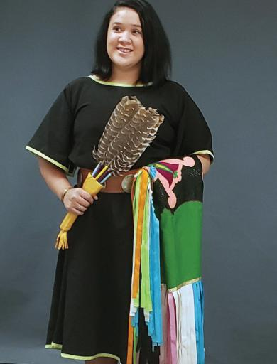 Cheyenne Wright will perform traditional dances at the Nanticoke Indian Tribe's 42nd Annual Powwow this weekend.