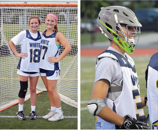 Kealey Allison and Delaney Brannon represented IRHS in the 2018 U.S. Lacrosse Blue-White All-Star game on the girls' side, while Ryan Burbridge represented the boys.