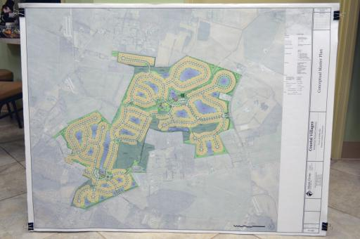 On Jan. 6, the Selbyville Town Council approved this preliminary site plan for Coastal Villages, which includes 700 housing units on 322 acres. It would be located on the north side of Route 54, stretched between both Polly Branch Road and Hudson Road.