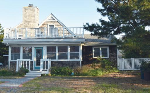 The Poffel house is one of many coastal cottages that will be open for the Historic Coastal Towns tour on October 12.