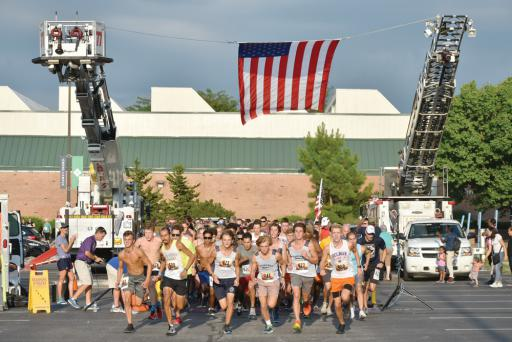 Nearly 500 runners and walkers competed in the 2018 Run, White & Blue 5K run/1-mile walk. The 2019 Run, White & Blue 5K run/1-mile walk will take place on Thursday, Sept. 5, at Delaware Tech's Owens Campus in Georgetown, and benefits scholarships for veterans and first-responders.