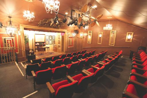 Dickens' Parlour Theatre has hosted hundreds of shows over it's10 year tenure in Millville.