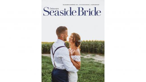 Delaware Seaside Bride's 2019/2020 cover.