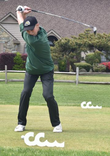 Patrick Gogerty helped improve IRHS Golf Team's record to 7–4 with a win over Delmar.