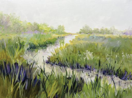 Dale Sheldon's 'Fog, South of Tower Road' is just one of the many peices of art that will be available during Gallery One's 'Road Trip Along Route 1' show being held from May 29 through June 25.