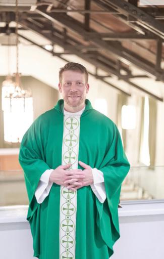 Rev. Gunther will be installed as dean of Holy Trinity Cathedral.
