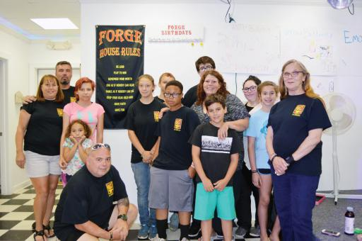 The FORGE crew celebrated the opening of the program's new location with an open house on Saturday, June 16.