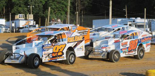 Scott Hitchens drives the Matt Smith-owned No. 97 car during races held at the Georgetown Speedway on Friday, June 1.