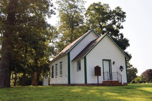 Located northwest of Millsboro, the Godwin School was renovated over many years and finally added to the National Register of Historic Places.