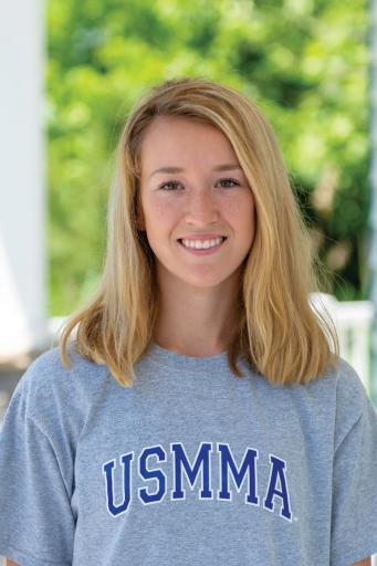 Indian River High School graduate Helen Davis will be attending the U.S. Merchant Marine Academy starting later this summer.
