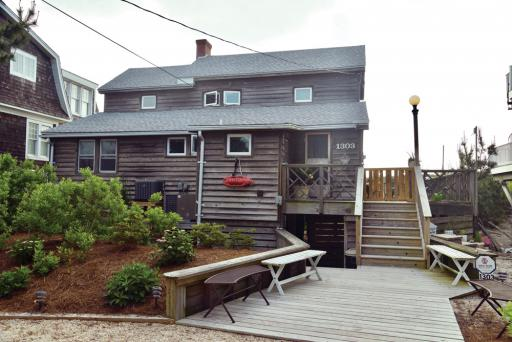 The Rasmussen cottage, located at 1303 Bunting Avenue, oceanfront, in Fenwick Island, is among the historic Fenwick Island homes being featured on the Historic Coastal Towns Cottage & Lighthouse Tour on Sunday, Oct. 6, from 10 a.m. to 4 p.m.