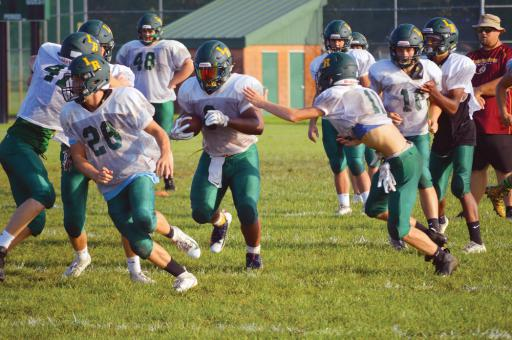 The Indian River football team has been working hard to get themselves ready for their 2019 season-opener against Milford on Friday, Sept. 6, at home starting at 7 p.m. The team will host Cape Henlopen on Friday, Aug. 30, in their final tune-up scrimmage, starting at 6 p.m.