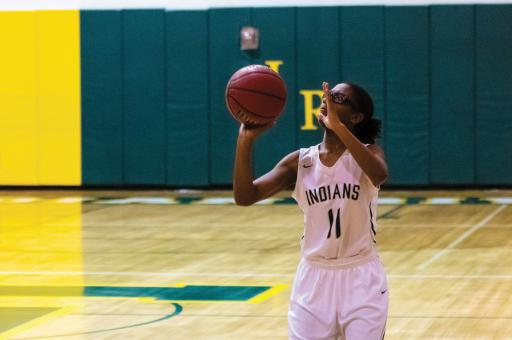 Indian River senior Yonya Wise is one of four key returners this year.