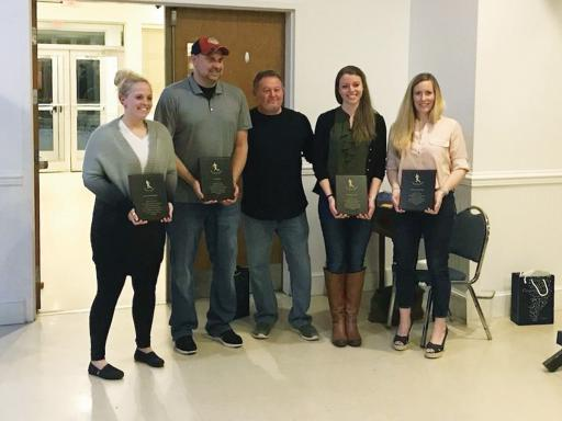 The IRHS Hall of Fame recently inducted four new members — Michelle Giorgilli, Colleen Carrol Davis, Morgan Warrington and Nick Slonin..