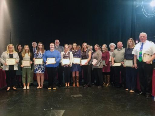 The Indian River School District School Board recently recognized educators and individuals as Special Education Ambassadors.