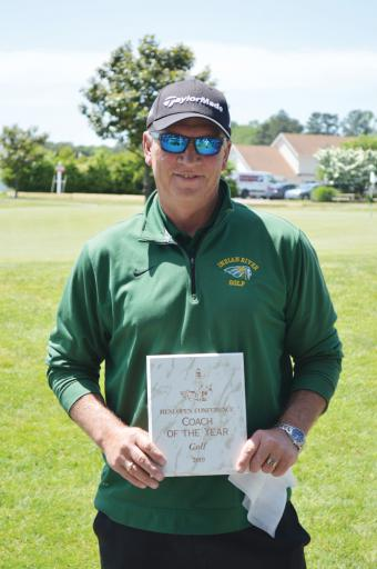 Coach Wingate was named the Henlopen Athletic Conference Coach of the Year after this year's tournament was concluded.