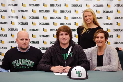 Indian River senior J.J. Killen announced he would be signing with Division II baseball program Wilmington University to continue his academic and athletic careers. The pitcher/first baseman chose the Wildcats over Delaware State.