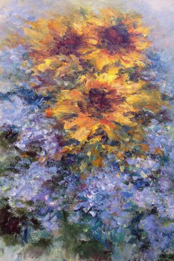 Eileen Olson, 'Imaginary Garden,' oil