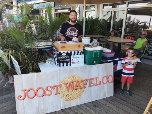 Joost Elling will be bringing his stroopwafel to Dagsboro Days on Saturday, April 20.