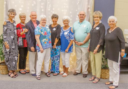 Lord Baltimore High School served students in the Ocean View area from 1920 until 1968. Graduates of all ages came together for a reunion celebration on June 22 in Georgetown. The Class of 1959 grins for a photo.