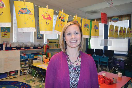 Jennah Truitt certainly has a way with children. She's already the godmother for several friends, and she was recently named Lord Baltimore Elementary School's Teacher of the Year.