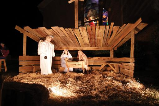 The annual live Nativity will be held at Mariner's Bethel on Friday, Dec. 20.