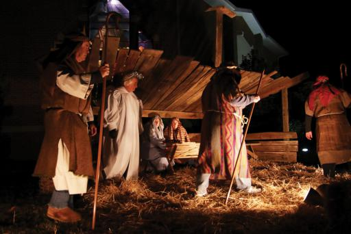 Mariner's United Methodist Church hosts a Live Nativity scene each year. This year's Nativity will be held on Friday, Dec. 14, outside of the church starting at 6 p.m.