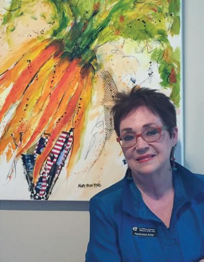 Mary Bode Byrd was recently announced as the newest partner at Gallery One in Ocean View. Byrd has spent 30 years in visual communications and graphic design.
