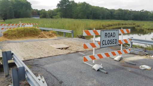 In September, wooden decking and metal fasteners will be repaired on the tiny Millers Neck Road bridge.
