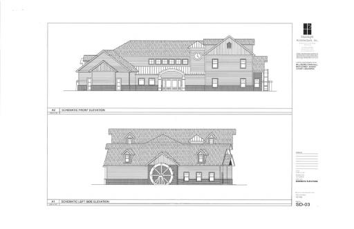 Millsboro officials are beginning to settle on the details of the new town hall design.