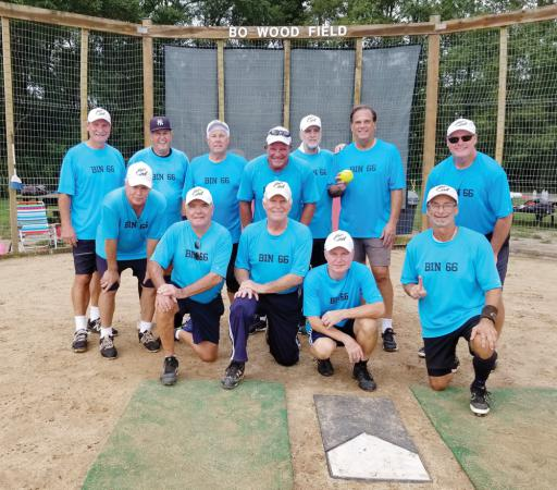 in 66, coached by Dave Sroka, took the championship in the 2018 Olde Tymers Softball League of Delmarva this year.