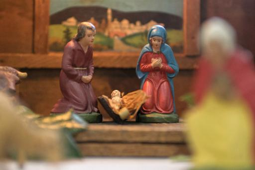 Ocean View Presbyterian Church once again hosted a Nativity Festival this year, showcasing a variety of creches.