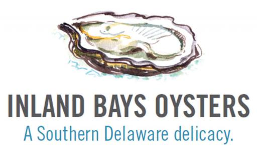 The logo for Inland Bays Oysters.