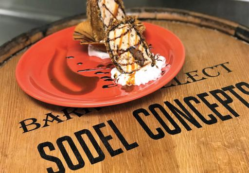 For the sixth annual Girl Scout Cookie promotion in SoDel Concepts restaurants, Papa Grande's Coastal Taqueria has whipped up fried ice cream made with Samoas. All 10 restaurants will bring their desserts to the Girl Scout Cookie Throw Down on March 14, from 6 to 8 p.m., at the Clubhouse at Baywood in Millsboro.
