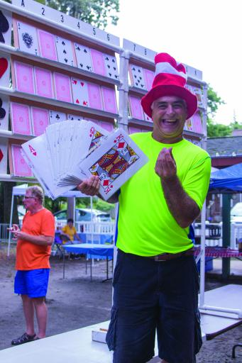 Ocean View dodged threats of rain at the 32nd annual Labor Day picnic, hosted by Delaware Deaf Senior Citizens, which drew a new record of 125 attendees on Sept. 2. Guests played 'Dingo,' a version of bingo for the hearing-impaired.