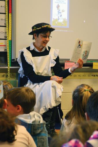 Jan Seitz reads Peggy Parish's 'Amelia Bedelia' in her classrom at East Millsboro Elementary School during World Read Aloud Day on Thursday, Jan. 31.